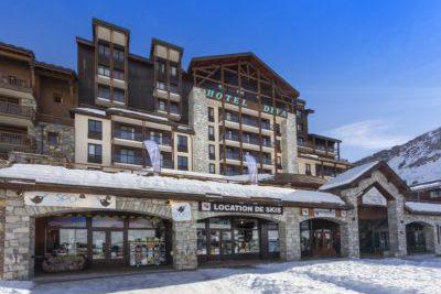 Hotels et altitude