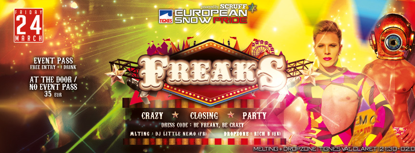 Freaks Closing 2017 Facebook